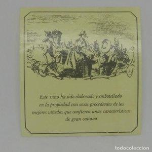 Etiqueta de vino 6,5x6cm