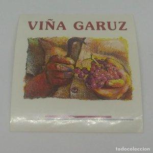 Viña Garuz Etiqueta 6,5x6cm