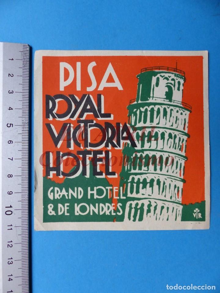 Etiquetas antiguas: 18 ANTIGUAS ETIQUETAS DIFERENTES DE HOTEL DE CIUDADES ESPAÑA Y EXTRANJERO, VER FOTOS ADICIONALES - Foto 3 - 162932474