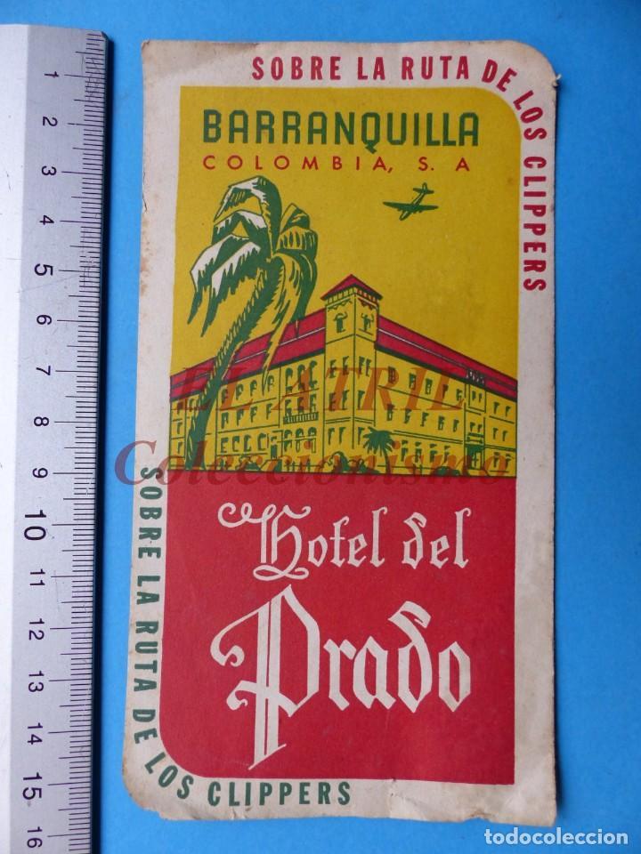 Etiquetas antiguas: 18 ANTIGUAS ETIQUETAS DIFERENTES DE HOTEL DE CIUDADES ESPAÑA Y EXTRANJERO, VER FOTOS ADICIONALES - Foto 5 - 162932474
