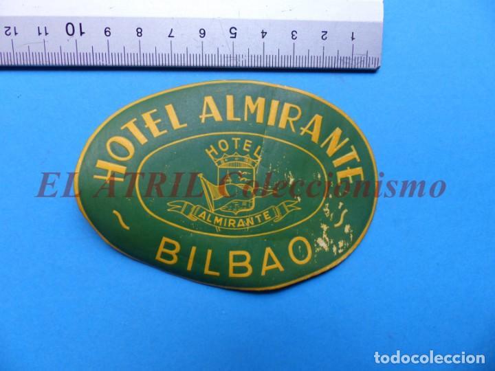 Etiquetas antiguas: 18 ANTIGUAS ETIQUETAS DIFERENTES DE HOTEL DE CIUDADES ESPAÑA Y EXTRANJERO, VER FOTOS ADICIONALES - Foto 7 - 162932474