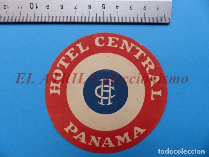 Etiquetas antiguas: 18 ANTIGUAS ETIQUETAS DIFERENTES DE HOTEL DE CIUDADES ESPAÑA Y EXTRANJERO, VER FOTOS ADICIONALES - Foto 8 - 162932474