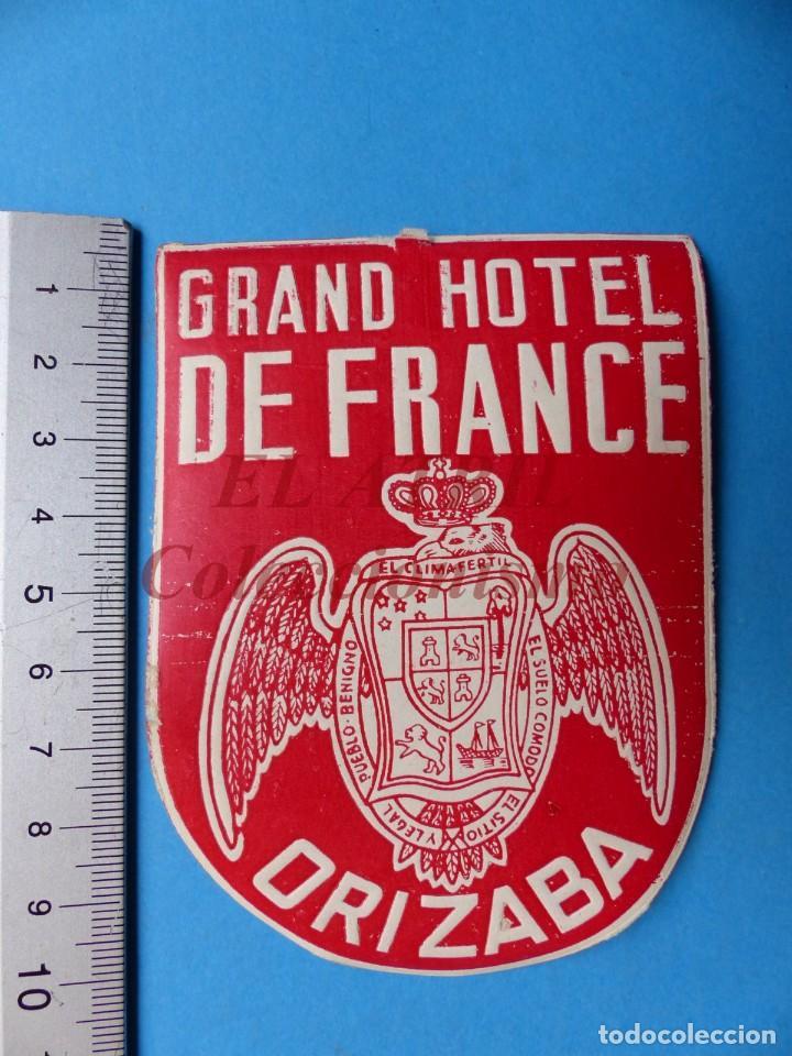 Etiquetas antiguas: 18 ANTIGUAS ETIQUETAS DIFERENTES DE HOTEL DE CIUDADES ESPAÑA Y EXTRANJERO, VER FOTOS ADICIONALES - Foto 9 - 162932474