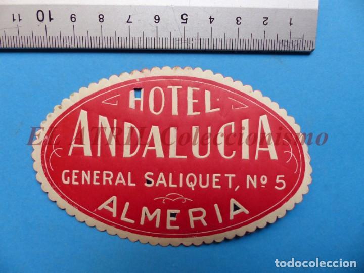 Etiquetas antiguas: 18 ANTIGUAS ETIQUETAS DIFERENTES DE HOTEL DE CIUDADES ESPAÑA Y EXTRANJERO, VER FOTOS ADICIONALES - Foto 10 - 162932474