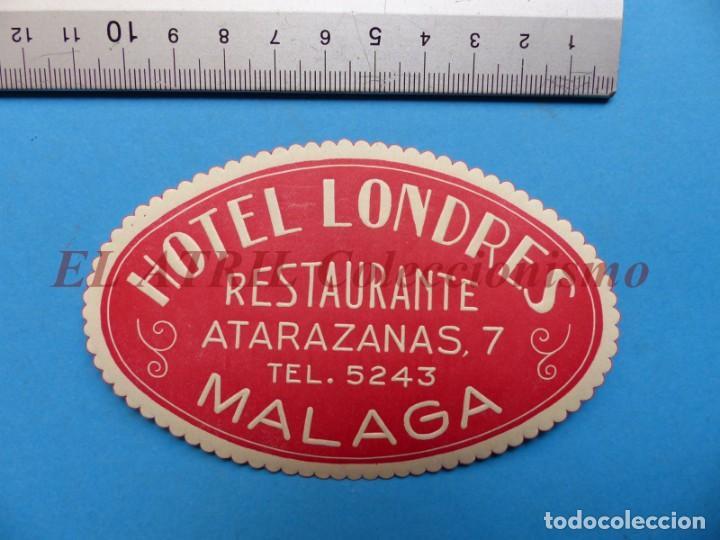 Etiquetas antiguas: 18 ANTIGUAS ETIQUETAS DIFERENTES DE HOTEL DE CIUDADES ESPAÑA Y EXTRANJERO, VER FOTOS ADICIONALES - Foto 11 - 162932474