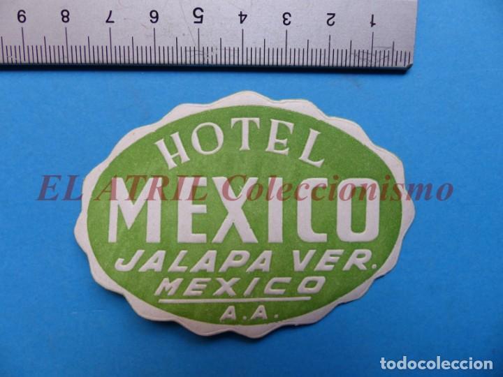 Etiquetas antiguas: 18 ANTIGUAS ETIQUETAS DIFERENTES DE HOTEL DE CIUDADES ESPAÑA Y EXTRANJERO, VER FOTOS ADICIONALES - Foto 12 - 162932474