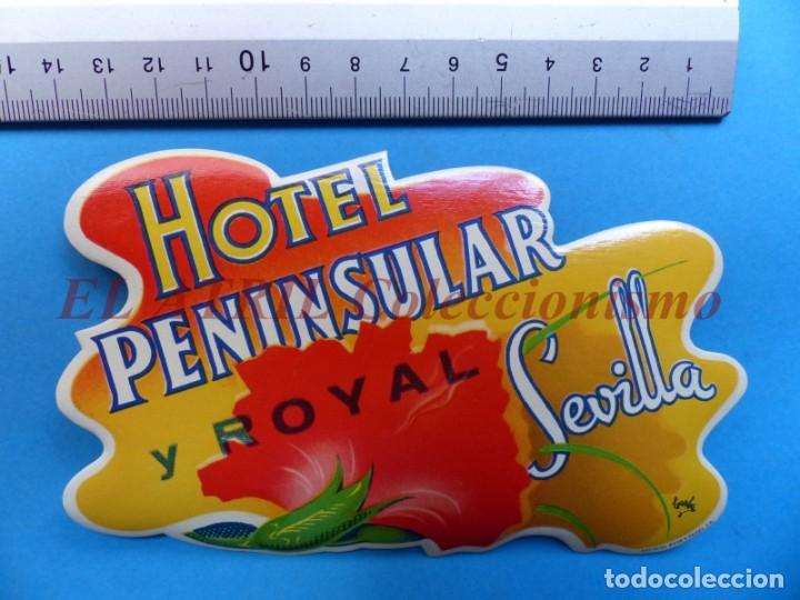 Etiquetas antiguas: 18 ANTIGUAS ETIQUETAS DIFERENTES DE HOTEL DE CIUDADES ESPAÑA Y EXTRANJERO, VER FOTOS ADICIONALES - Foto 15 - 162932474