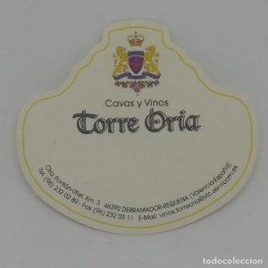 Cavas y vinos Torre Oria. Derramador requena 6,5x5,6cm