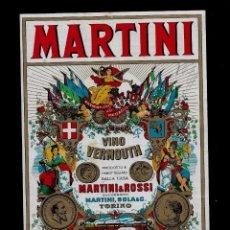 Etiquetas antiguas: ETIQUETA - VERMOUTH - MARTINI - MARTINI & ROSSI S. A.. Lote 163057422
