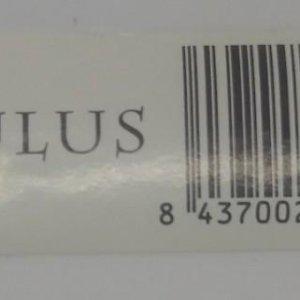Etiqueta Paulus 6x2,2cm