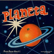 Alte Etiketten - CARTEL ITO NARANJAS PLANETA - 168283806