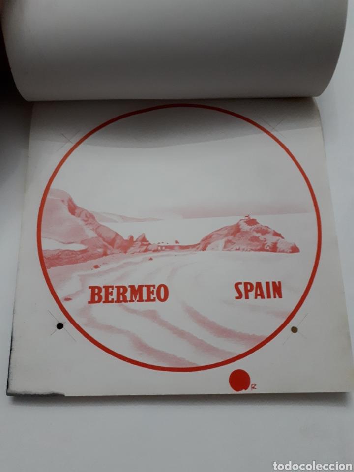 Etiquetas antiguas: ORMAZA brand BERMEO (Vizcaya) SPAIN. Cuadernillo con siete pruebas de color - Foto 6 - 168643705