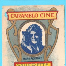 Etiquetas antiguas: ENVOLTORIO CARAMELOS CINE. PIÑA. MARY PICKFORD. 1920'S.. Lote 169868804