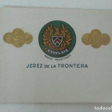 Etiquetas antiguas: ETIQUETA VINO EXCELSIS, JEREZ DE LA FRONTERA. Lote 170188952