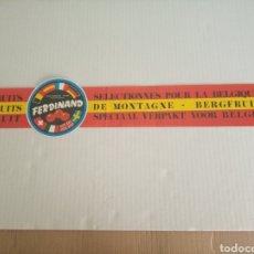 Etichette antiche: ETIQUETA NARANJAS. Lote 171162827