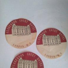 Etiquetas antiguas: ETIQUETAS DE HOTEL. Lote 174054717