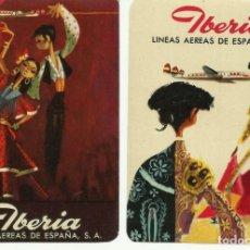 Etiquetas antiguas: ANTIGUAS ETIQUETAS ENGOMADAS PARA MALETAS PUBLICIDAD IBERIA LINEAS AEREAS S.A.. Lote 178685405