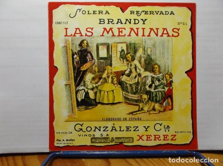 ETIQUETA DE UNA BODEGA DE JEREZ DE LA FRONTERA.... ANTIGUA (Coleccionismo - Etiquetas)