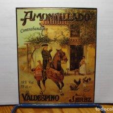 Etiquetas antiguas: ETIQUETA DE UNA BODEGA DE JEREZ FRA.... ANTIGUA. Lote 180308288