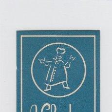 Etiquetas antiguas: ETIQUETA DEL HOTEL CHOUPANA. VISEU, PORTUGAL.. Lote 181709687