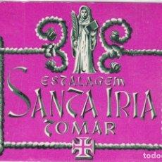 Etiquetas antiguas: ETIQUETA DEL HOTEL ESTALAGEM SANTA IRIA. TOMAR, PORTUGAL.. Lote 181786937