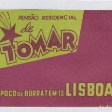 Etiquetas antiguas: ETIQUETA DEL HOTEL PENSAO RESIDENCIAL DE TOMAR. LISBOA, PORTUGAL.. Lote 182903061