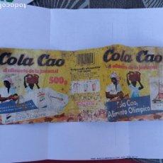 Etiquetas antiguas: ETIQUETA COLACAO 1991 PUBLICIDAD BANESTO. Lote 182981322