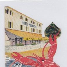 Etiquetas antiguas: ETIQUETA DEL HOTEL MIRAMAR. PUERTO DE ALCUDIA. MALLORCA, ISLAS BALEARES.. Lote 186019063