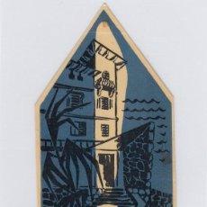 Etiquetas antiguas: ETIQUETA DEL HOTEL MIRAMAR. LOVRAN, YUGOSLAVIA.. Lote 191092748