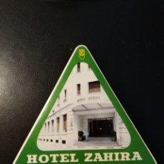 Étiquettes anciennes: ETIQUETA, LABEL, HOTEL ZAHIRA, CORDOBA. Lote 191181746