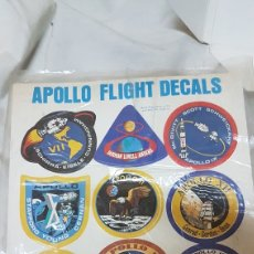 Etiquetas antiguas: APOLLO LIGHT DECALS. Lote 194286220