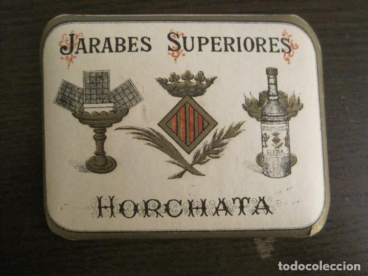 Etiquetas antiguas: 2 ETIQUETAS ANTIGUAS-HORCHATA-CIDRA-JARABES SUPERIORES-VER FOTOS-(V-19.048) - Foto 5 - 194316138