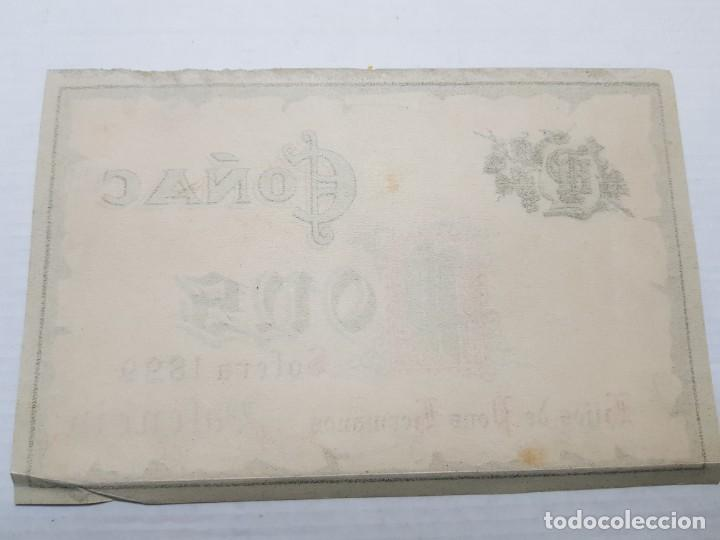 Etiquetas antiguas: Etiqueta Antigua Coñac Pons Valencia - Foto 2 - 194518447