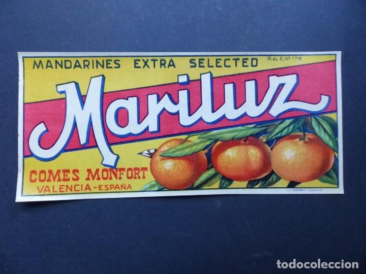 Etiquetas antiguas: Colección de 9 antiguas etiquetas diferentes de Naranjas años 1930-1950 - VER FOTOS ADICIONALES - Foto 2 - 194702940