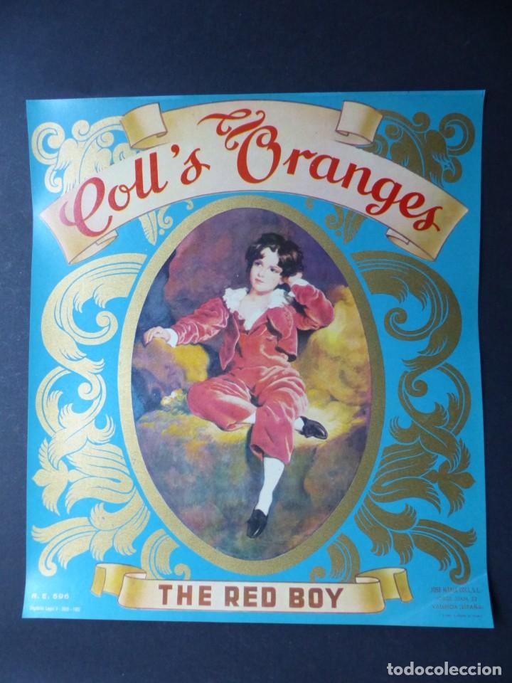 Etiquetas antiguas: Colección de 9 antiguas etiquetas diferentes de Naranjas años 1930-1950 - VER FOTOS ADICIONALES - Foto 9 - 194702940