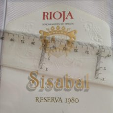 Etiquetas antiguas: ETIQUETA DE VINO - SISABAL - RIOJA - RESERVA 1980 - . Lote 194997323