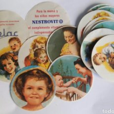 Etiquetas antiguas: ANTIGUA PUBLICIDAD ETIQUETAS CELAC NESTROVIT AÑOS 60. Lote 195103151