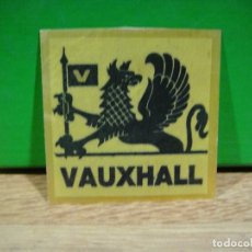 Etiquetas antiguas: PEGATINA VAUXHALL. Lote 195422898