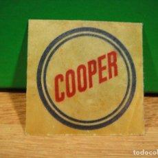 Etiquetas antiguas: PEGATINA COOPER. Lote 195423458