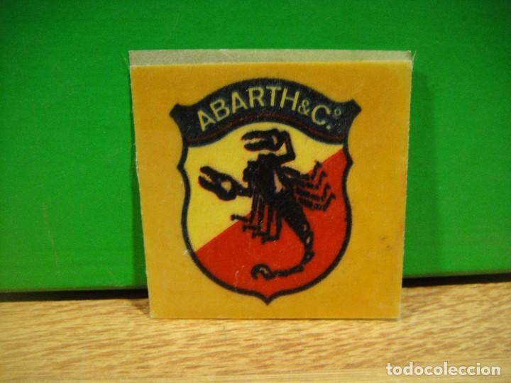 PEGATINA ABARTH & C.º (Coleccionismo - Etiquetas)
