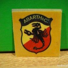 Etiquetas antiguas: PEGATINA ABARTH & C.º. Lote 195423660