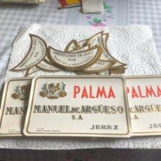 Etiquetas antiguas: LOTE DE 85 ETIQUETAS DE VINO, MANUEL DE ARGUESO. Lote 197211227