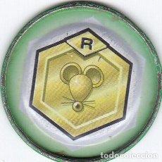 Etiquetas antiguas: COLECCIÓN TAZOS MEDABOTS MAGIC BOX INT. METAL RAPPERS TAZO CHAPA METÁLICA Nº 36 VER FOTO ADICIONAL. Lote 197841308