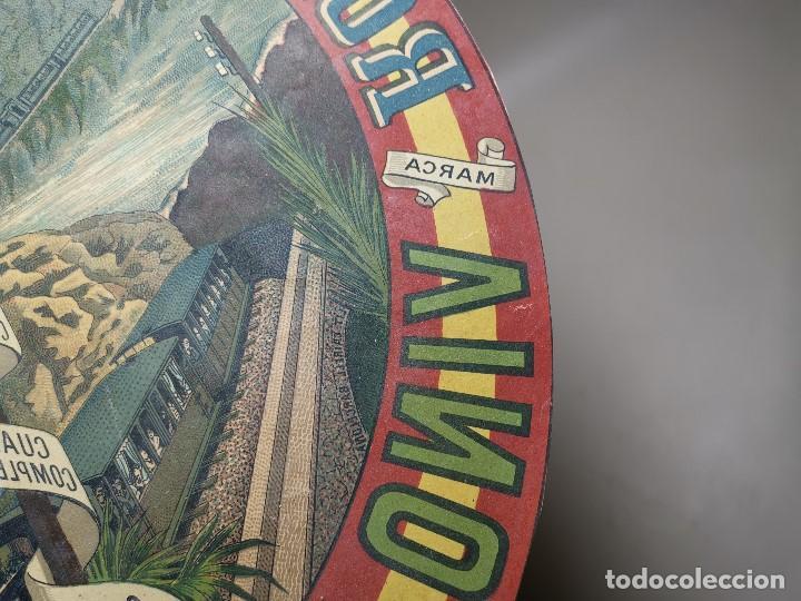 Etiquetas antiguas: ETIQUETA BARRICA VINO PURO DE MESA ROMULO BOSCH Y ALSINA-MONTSERRAT BARCELONA- 32 CM - Foto 9 - 197847266