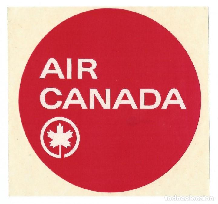 ETIQUETA DE EQUIPAJE AIR CANADA (Coleccionismo - Etiquetas)