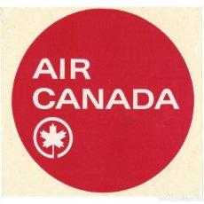 Etiquetas antiguas: ETIQUETA DE EQUIPAJE AIR CANADA. Lote 198639301