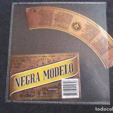 Etiquetas antiguas: CERVEZA-V9ET-6-ETIQUETAS-MODELO.. Lote 200081997