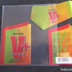 Etiquetas antiguas: CERVEZA-V9ET-7-ETIQUETAS-VELTINS. Lote 200286210