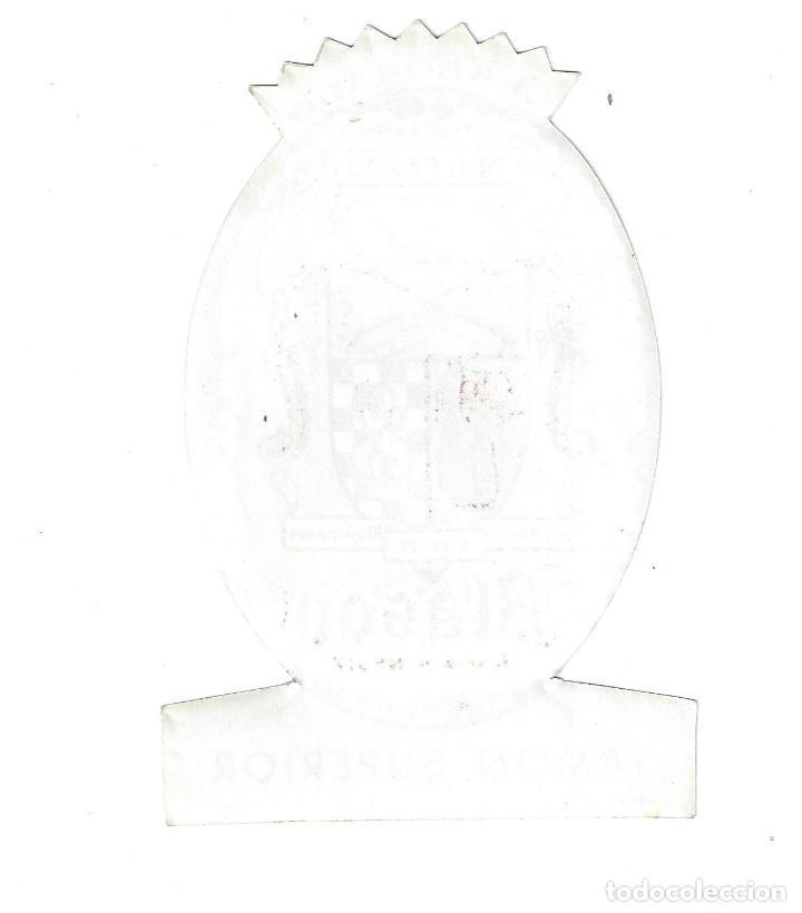 Etiquetas antiguas: ETIQUETA- BLASÓN. JAMÓN SUPERIOR. PRODUCTOS DEL CERDO VICH, SA. SAN MARTIN RIUDEPERAS - Foto 2 - 205682997