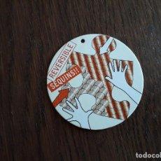 Etiquetas antigas: ETIQUETA DE ROPA, SEQUINS, REVERSIBLE.. Lote 206179896